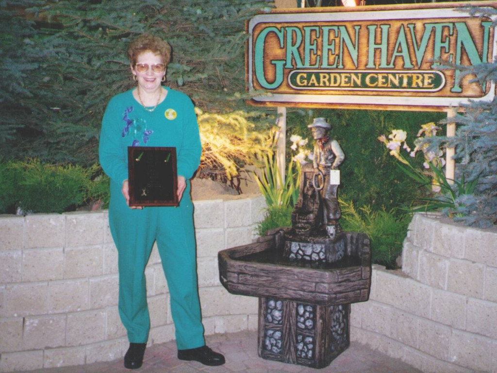 Lyla At The Home & Garden Show 1988.